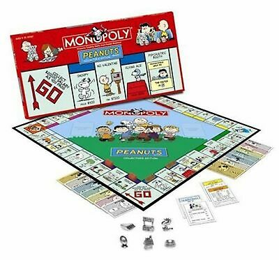 Peanuts Monopoly Game~Collector's Limited Edition 2002~Sealed