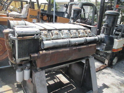 Deutz Air-Cooled V12 Diesel Engine 12-Cylinder Motor w/ PTO 320hp  Rat Rod