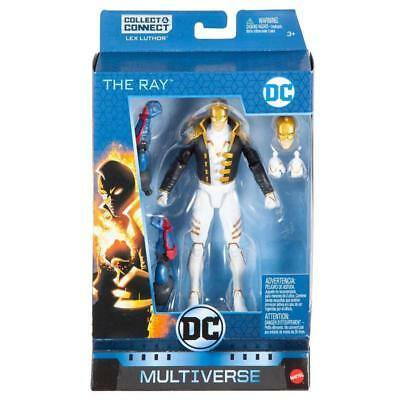 Dc Multiverse The Ray Coleccionar & Connect Lex Luther 15.2cm