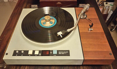 From Japan - DENON DP 2700 - Turntable 1974 Very Rare - Vintage Quality Analog