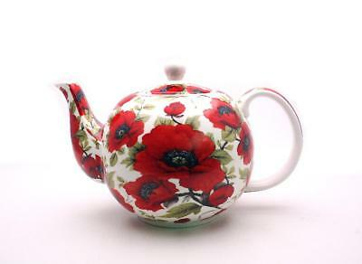 Poppy  Teapot Fine China