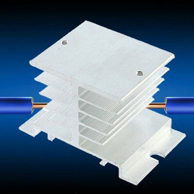 New Aluminum Heat Sink For Solid State Relay SSR Small Type Heat Dissipation ♣♬