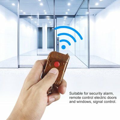 DC 12V 10A Relay 1CH wireless RF Remote Control Switch Transmitter& Receiver ♣♬