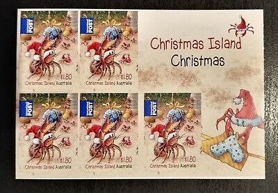 2014 Christmas Island Stamps - Christmas - Self Adhesive Booklet