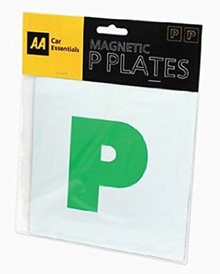 Aa P Plates Magnetic Fully Secure Green New Driver P Plates Just Passed Car