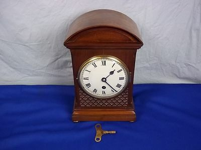 Circa 1850 Victorian 8 Day Single Fusee Mantel Clock