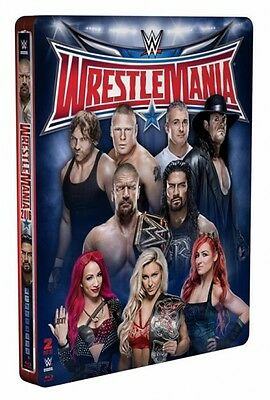 WWE: WrestleMania 32 - Limited Edition Steelbook [Blu-ray] - Official WWE Store