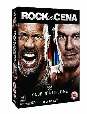 WWE New - Rock Vs Cena - Once In a Lifetime [DVD] - Official WWE DVD Store