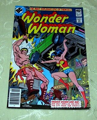 WONDER WOMAN Comic #259, Sep 1979 (VF to NM) DC