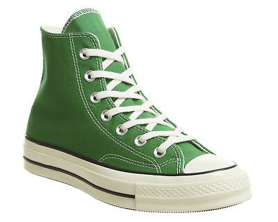 63bbd954cf5c Mens Converse All Star Hi 70 S Trainers Green Black Egret Trainers Shoes