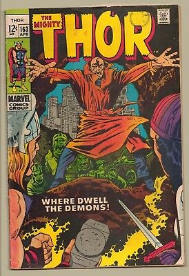 MARVEL THOR COMIC 1969 (12 Cents) SILVER AGE