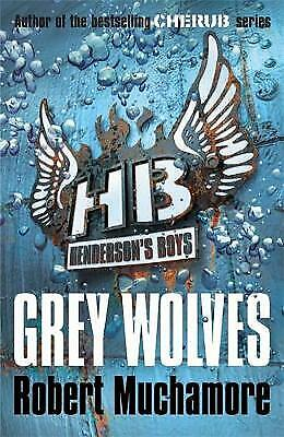 Grey Wolves by Robert Muchamore (Paperback) Book