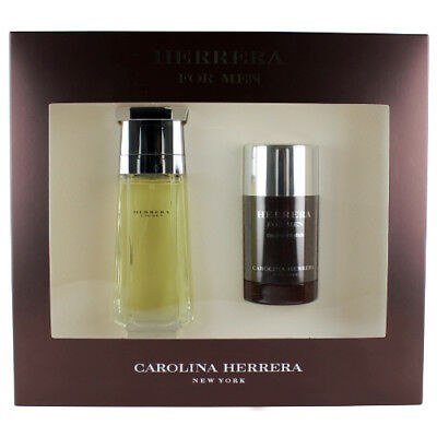 Herrera By Carolina para Hombre Set - 101ml Edt Spray + 62ml Desodorante Roll-On