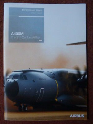 2018 Brochure Publicitaire Airbus Military Aircraft A400M Airlifter