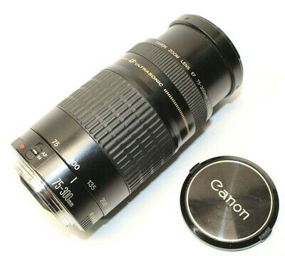Canon 6472A002 Ultrasonic 75-300mm Telephoto Zoom Lens for SLR Cameras