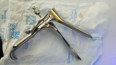 Lot of 9 Graves Vaginal Speculum Large, Medium & Small Surgical Instruments