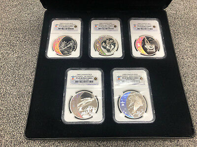 Royal Canadian Mint 2010 Vancouver Olympics Coin Set NGC PF 69 Ultra Cameo