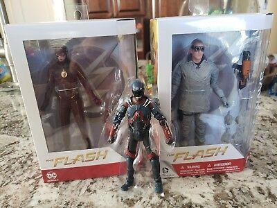 DC Collectibles lot of 3 Heat Wave The Flash Season 3 CW TV Show Atom Multiverse