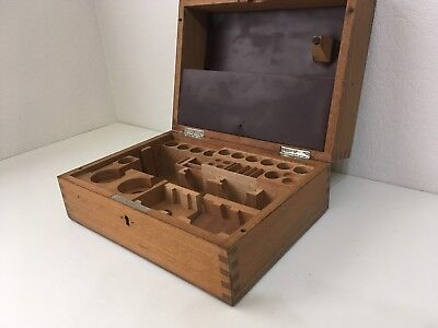 Leitz Wetzlar Microscopy wooden box