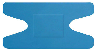 DETECTABLE KNUCKLE PLASTERS 50 BLUE (Pack of 50)