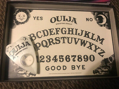 Ouija Board Glow in the Dark Vintage Mysterious Game Parker Brothers 1998