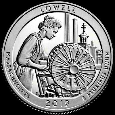 2019 D Lowell Nat'l HIST Park: America the Beautiful QTR (Received at Ceremony)