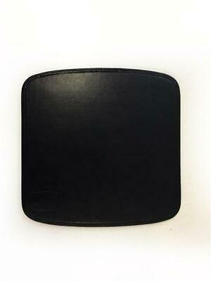 TAPPETINO TAPPETO MOUSE IN SIMIL PELLE NERO 21x21 -