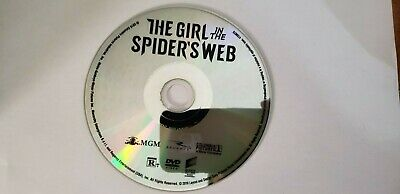 The Girl in the Spider's Web (2018) DVD ONLY