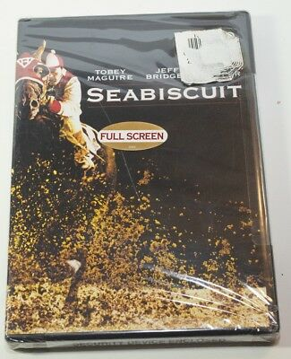 Seabiscuit DVD Full Screen Factory Sealed
