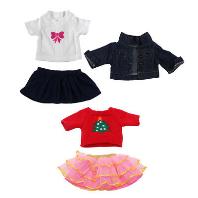 5pcs Clothes for 18'' AG American Doll Doll  Jeans Shirt Sweaters