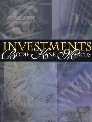 Investments by Bodie, Zvi Hardback Book The Cheap Fast Free Post