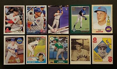 2019 Topps Ser 1 2 Iconic Card Reprints Insert Singles U Pick Complete Your Set