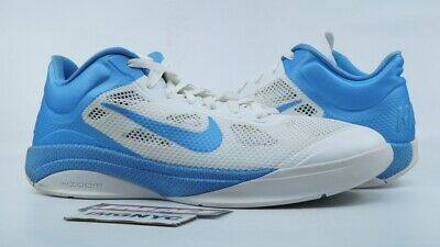 433b7f47f17 Nike Zoom Hyperfuse Low 2010 Used Size 14 White University Blue 429614 159