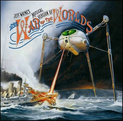 WAR OF THE WORLDS (2 CD) D/Remastered CD ~ JEFF WAYNE~RICHARD BURTON +++ *NEW*