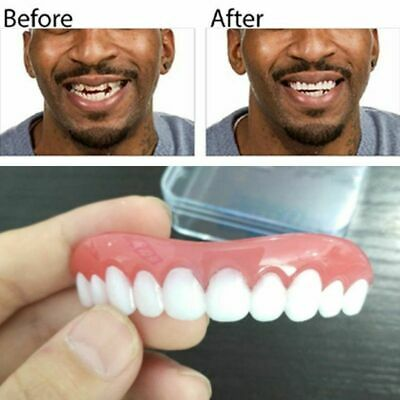 Perfect Smile Instant Teeth Cosmetic Top Bottom Comfort Fit Fake Cosmetic Teeths