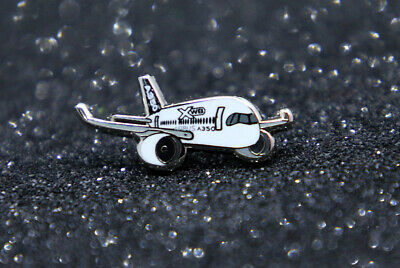 Pin Airbus House Livery A350 XWB metal Pin 1 inch / 25mm pudgy / chubby / cute