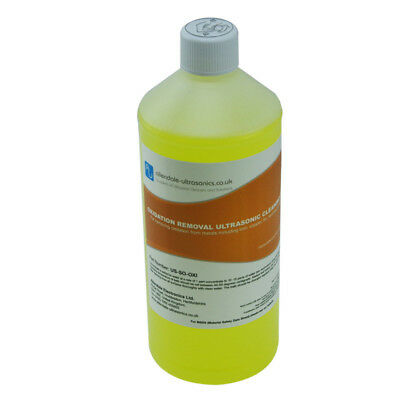 Oxidation & Rust Removal Ultrasonic Cleaner Fluid Solution 1L Cleaning Solution