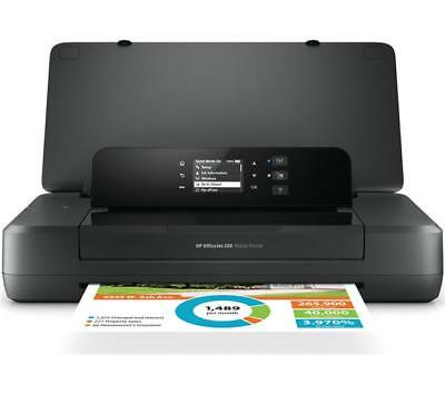 Hp Officejet 200 Couleur sans Fil Mobile / Portable Imprimante avec Batterie -