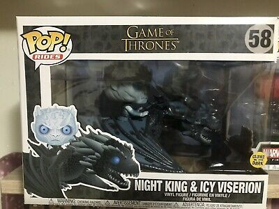 Funko Game Of Thrones 58 Night King /& Icy Viserion SUBITO DISPONIBILE