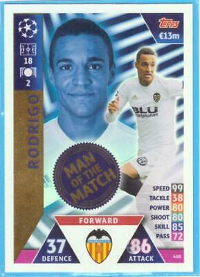 Topps Match Attax Champions League 2018-2019 Card Nr.400 Rodrigo