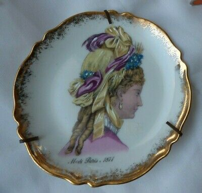 Assiette Decorative Murale Ancienne Porcelaine Md Limoges Decorative