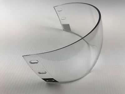 New! Oakley Vr941 Clear Xl Pro Cut Nhl Pro Stock Ice Hockey Player Visor Heatley