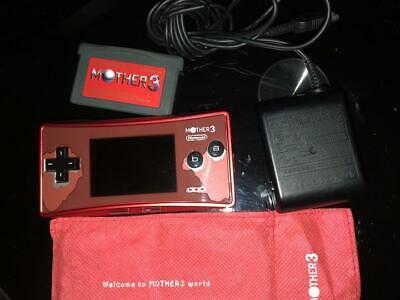 Nintendo Game Boy Micro System Mother 3 Deluxe Box Limited Edition USED