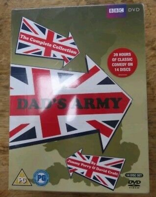 DVD - DADS ARMY COMPLETE  COLLECTION Series 1 -9 and the Christmas Specials