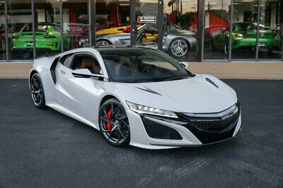 2017 Acura NSX Coupe '17 Acura NSX, Ceramic Brakes,Carbon Fiber Roof Spoiler And Pkg,ELS Studio Audio
