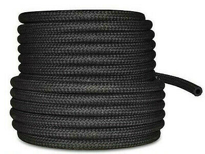 5 Mtrs Cotton Braided Rubber Fuel Hose for Unleaded Petrol/Diesel, Oil Line Pipe