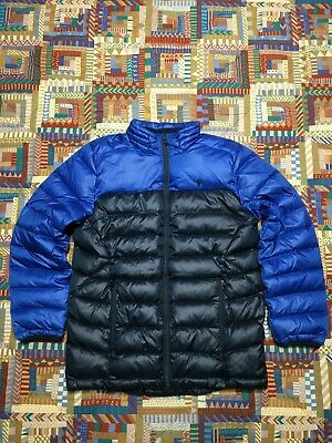 6bf9b80db127 POLO RALPH LAUREN Boys Large 14 16 Down Puffer Jacket - EUR 17