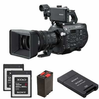 Sony PXW-FS7M2K 4K XDCAM Super 35mm Camcorder with 18-110mm Lens package a