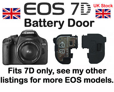 Battery Door cover for Canon EOS 7D DSLR NEW