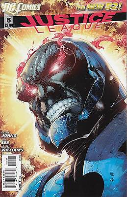 JUSTICE LEAGUE 6 ...NM-...2012...New 52...Jim Lee...Variant Cover!...Bargain!